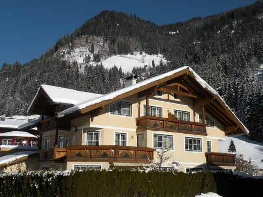 Appartementhaus Toferer im Winter