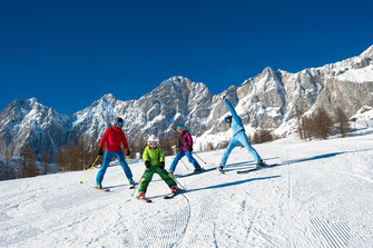 Ski fun for the whole family in Flachau | © B&B Hotel DIE BERGQUELLE