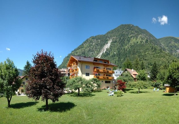 Appartement-Monuth-Bad-Hofgastein-Garten-Sommer