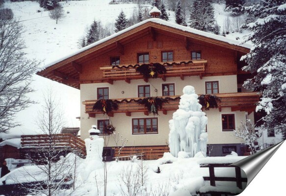Haus Schartner im Winter