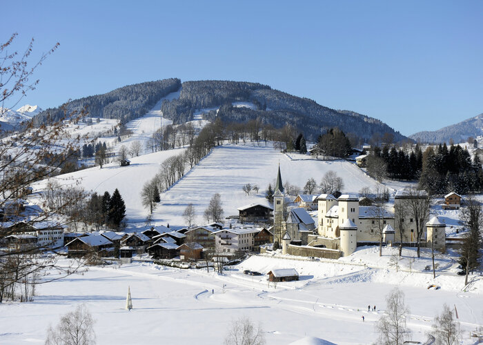 Goldegg im Winter | © Fotohech