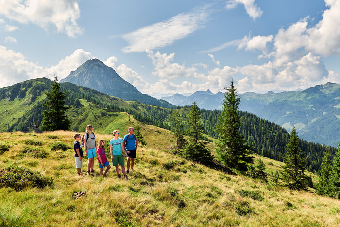 Family hike with guide Wagrain-Kleinarl in Ski amadé | © Armin Walcher
